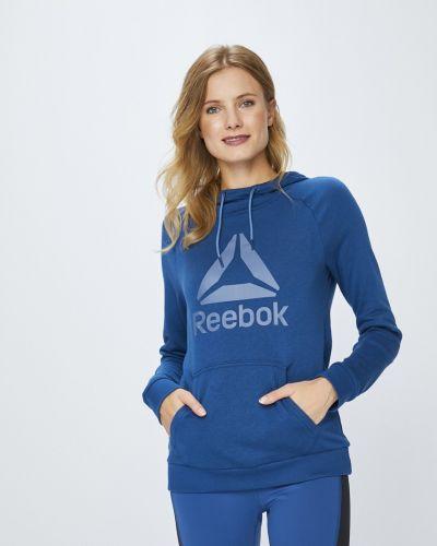 Bluzka długo niebieski Reebok