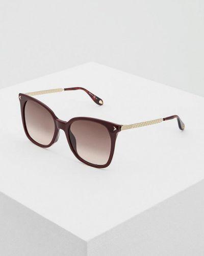 Солнцезащитные очки прямоугольные квадратные Givenchy
