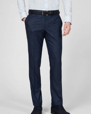 Синие классические брюки Navi