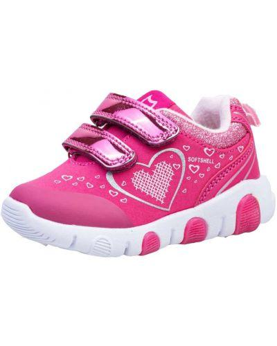 Розовые кожаные кроссовки с подкладкой котофей