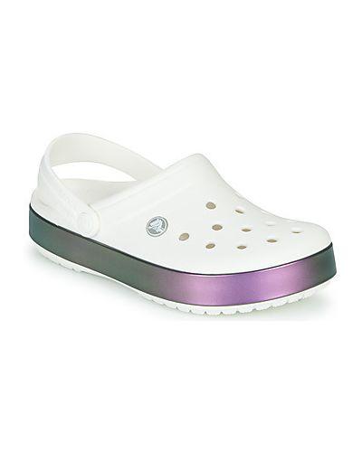 Chodaki, biały Crocs