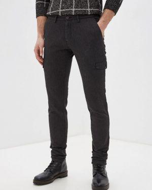 Зауженные брюки черные Angelo Bonetti