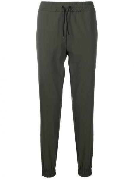 Zielone spodnie z printem Hydrogen