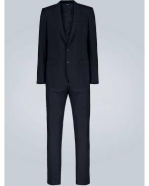 Черный костюмный костюм Dolce & Gabbana