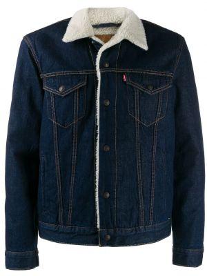 Синяя джинсовая куртка прозрачная Levi's®