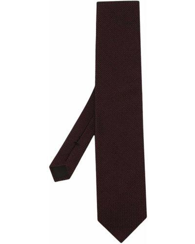 Красная шелковая резинка для волос с декоративной отделкой Tom Ford