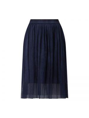 Niebieska spódnica rozkloszowana tiulowa More & More
