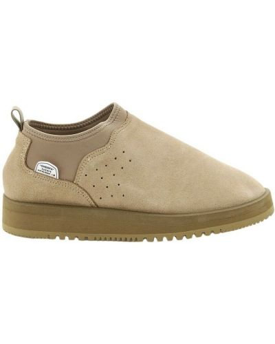 Buty sportowe zamszowe - beżowe Suicoke