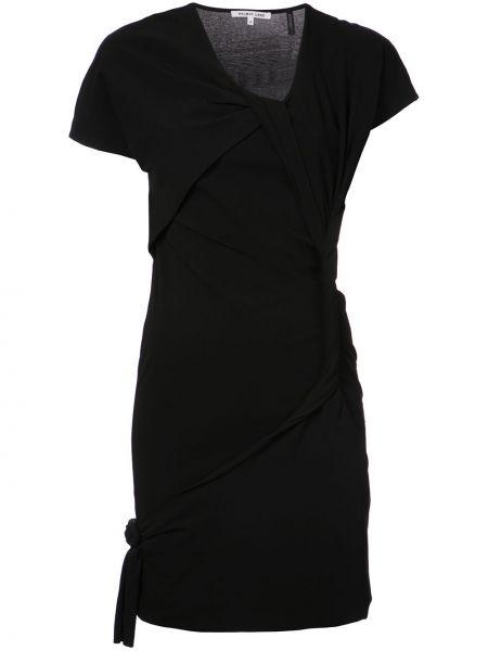 Платье мини с вырезом Helmut Lang