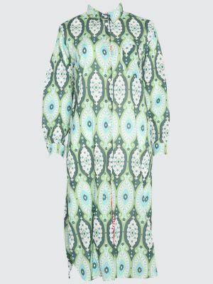 Zielony ciepły kaftan bawełniany Trendyol
