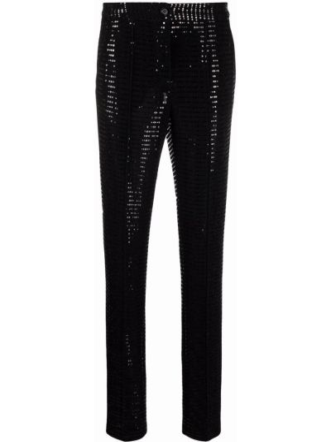 Зауженные брюки - черные Talbot Runhof