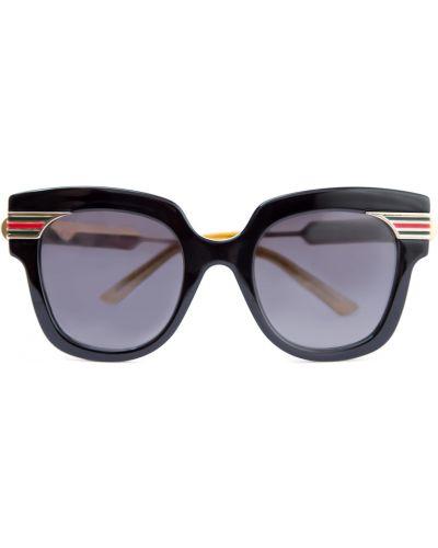 Солнцезащитные очки пластиковые стеклянные Gucci