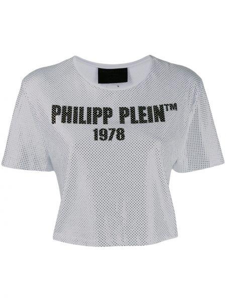 Sport top Przyciąć srebro Philipp Plein