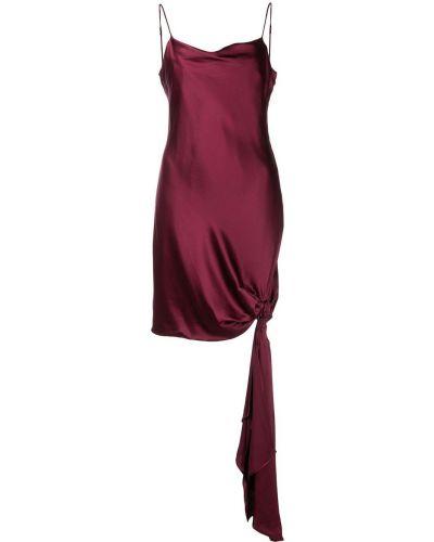 Шелковое платье мини - черное Cinq À Sept