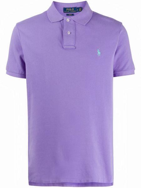 Koszula krótkie z krótkim rękawem klasyczna karmazynowy Ralph Lauren