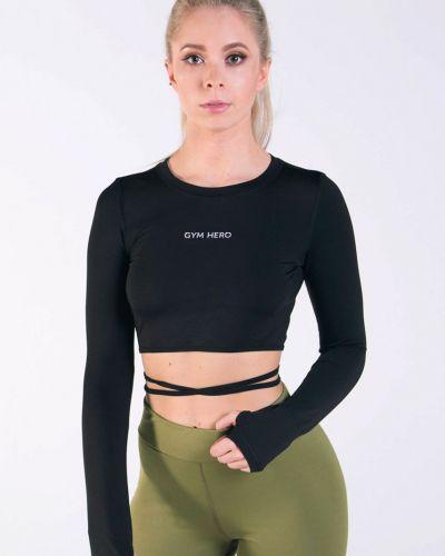 Блузка черная Gym Hero