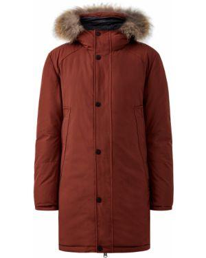 Куртка с капюшоном длинная на молнии Cudgi