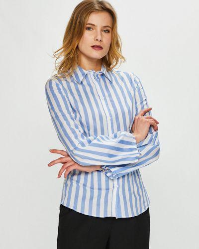Блузка с длинным рукавом хлопковая на пуговицах Trussardi Jeans
