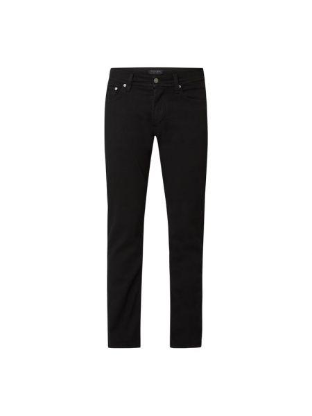 Czarne jeansy bawełniane Christian Berg Men
