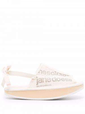 Резиновые сандалии Suicoke