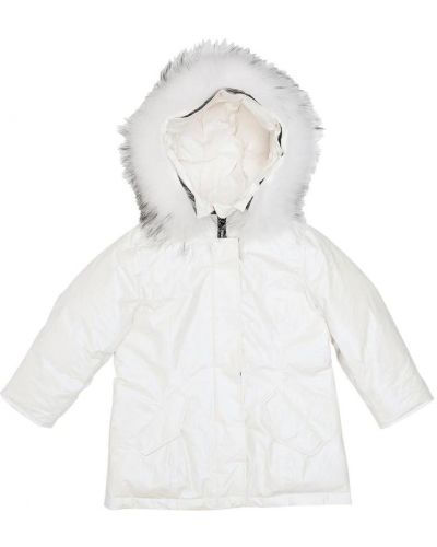 Biała kurtka Freedomday