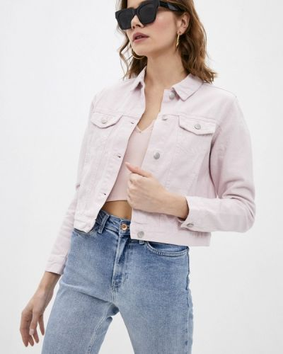 Розовая джинсовая куртка Befree