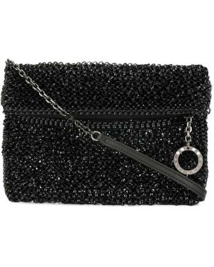 Черная сумка на цепочке Anteprima