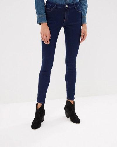 Синие джинсы-скинни Guess Jeans