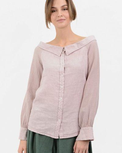 Блузка розовая осенняя Lino Russo