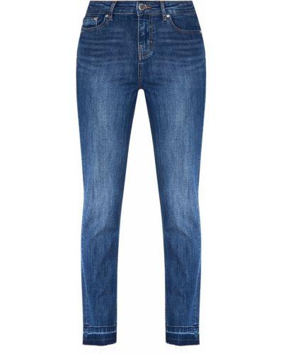 Прямые джинсы укороченные с манжетами Maje