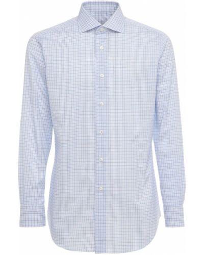 Biała koszula bawełniana Brioni