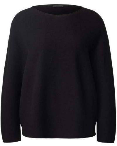 Czarny z kaszmiru sweter Drykorn