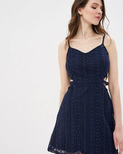 Платье прямое синее Jennyfer