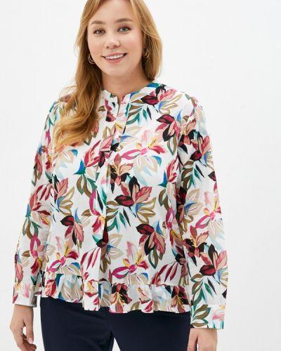 Белая блузка с длинными рукавами Gerry Weber