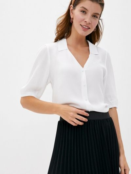 Белая блузка с коротким рукавом с короткими рукавами Pimkie