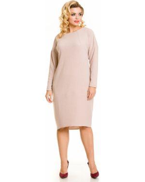 Платье лапша с вырезом Novita