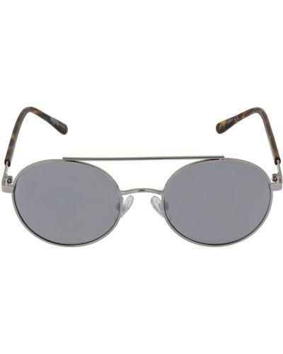 Srebro okulary przeciwsłoneczne okrągły Molo