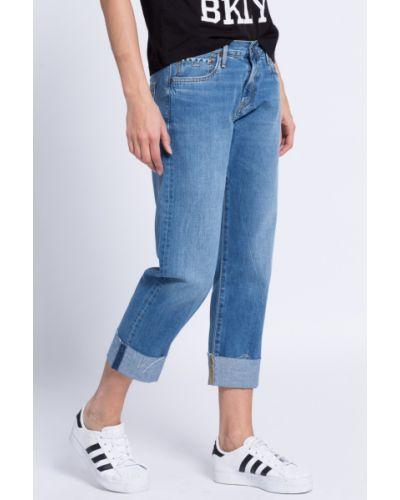 Прямые джинсы с эффектом потертости Pepe Jeans