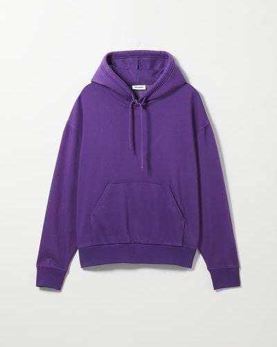 Худи оверсайз - фиолетовое Weekday
