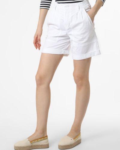 Ciepłe białe szorty eleganckie Drykorn