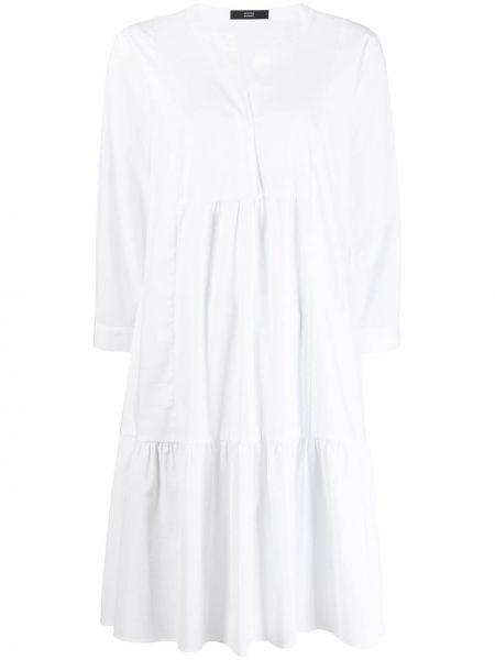 Платье мини короткое - белое Steffen Schraut