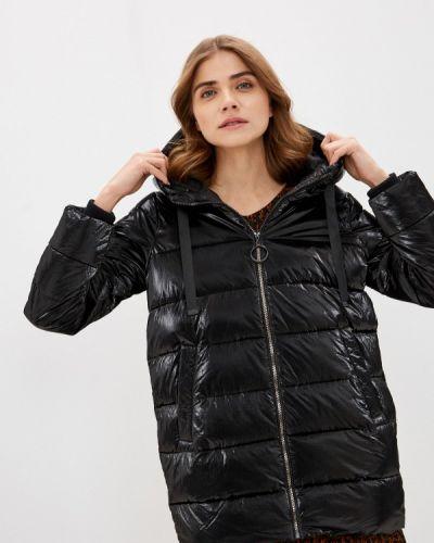 Черная утепленная куртка Zolla