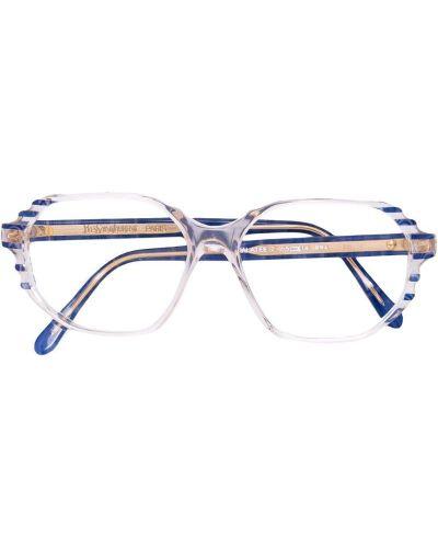 Оправа для очков винтажные - синие Yves Saint Laurent Vintage