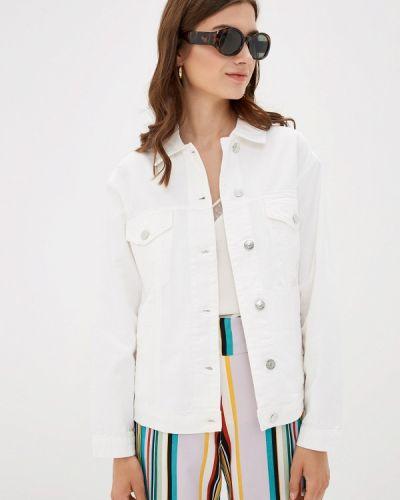Джинсовая куртка весенняя белая Only