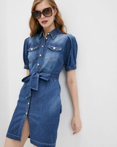 Синее джинсовое платье Liu Jo