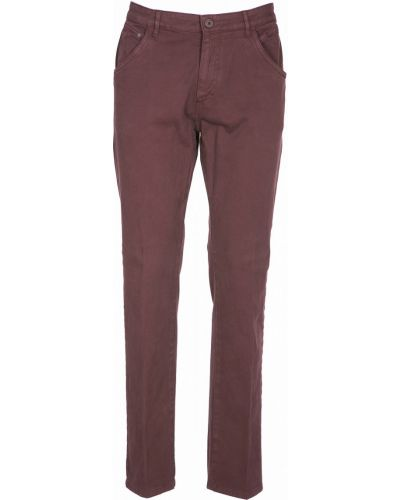 Хлопковые повседневные брюки с карманами Navigare