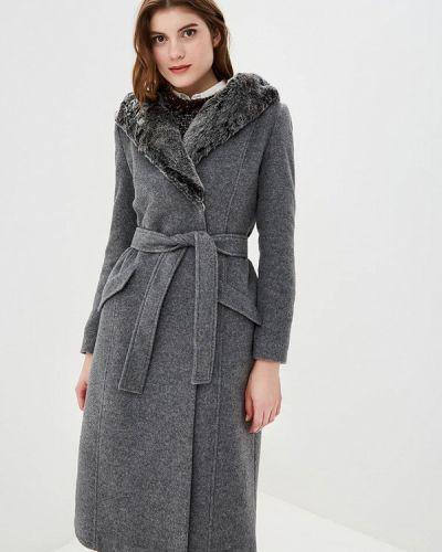 Пальто демисезонное серое Style National