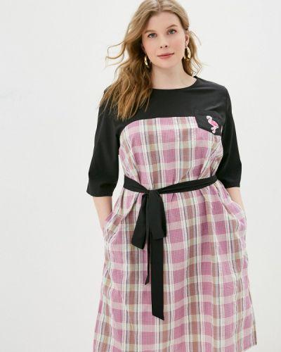 Повседневное розовое платье Svesta