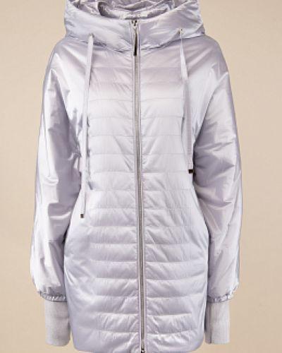 Прямая утепленная серая куртка Alyaska
