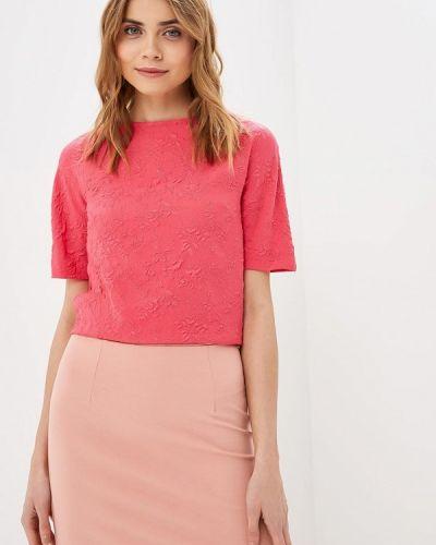 Блузка с коротким рукавом розовая весенний Grafinia